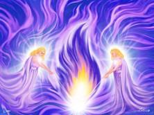 Violet Flame Angels