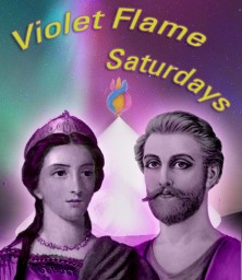 Violet Flame Saturdays - www.blogtalkradio.com/fotway