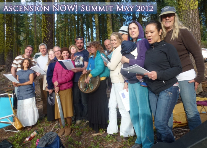 Ascension NOW! Ascension Summit - May 2012 - Mount Shasta, California